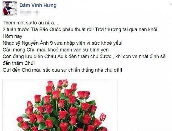 Đàm Vĩnh Hưng và nhạc sĩ Nguyễn Ánh 9 1