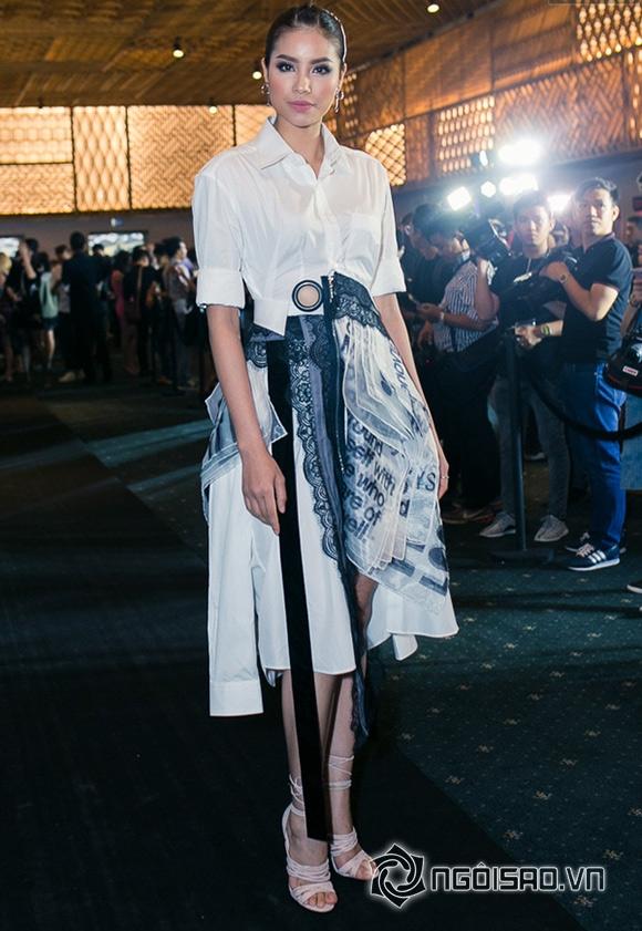 Phạm Hương đối lập phong cách thời trang với Đặng Thu Thảo 1