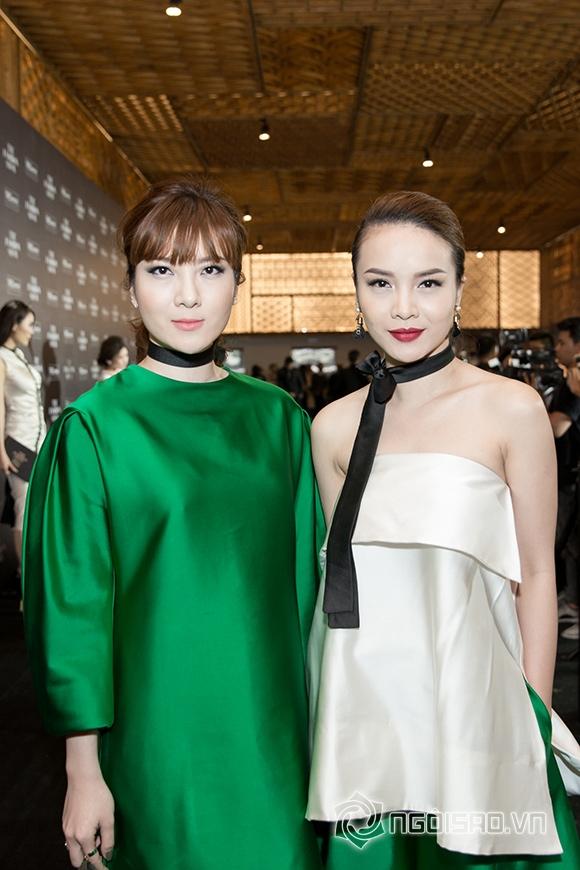 Phạm Hương đối lập phong cách thời trang với Đặng Thu Thảo 4